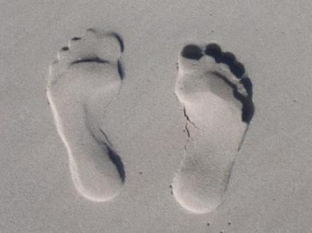 Ganzheitliche Fußmassage