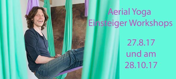 Aerial Yoga Einsteiger Workshop