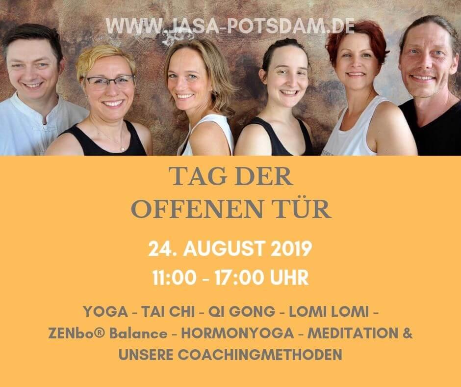 Tag der offenen Tür am 24. August 2019
